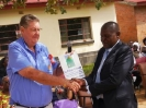 Rotary club Harare Dawn donates to St Peter Claver